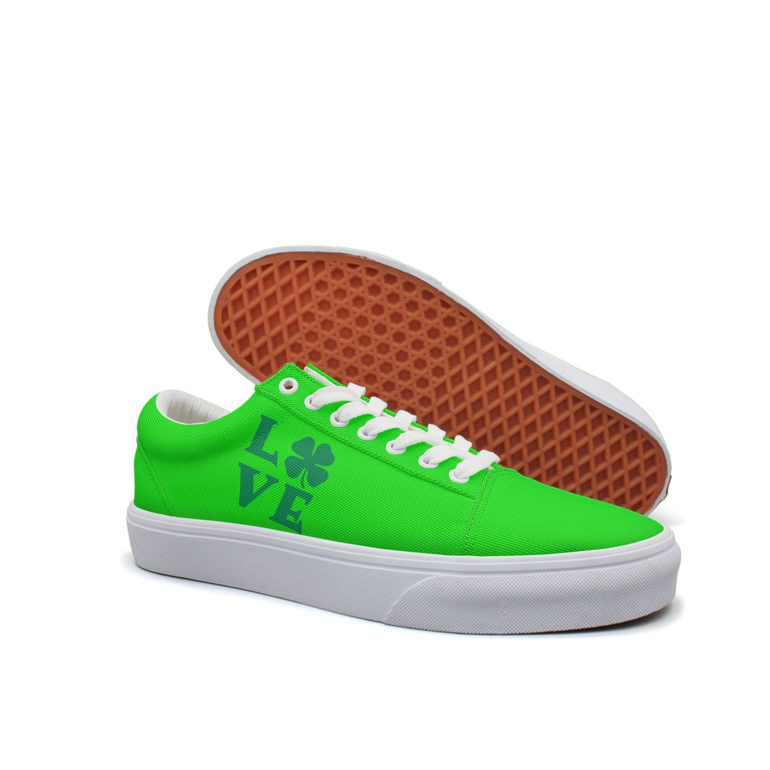 St Patricks Day Mens Canvas Low Top Sneaker Casual Shoes
