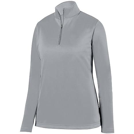 43e0f62e099 Augusta Sportswear Women's Wicking Fleece Pullover XS Athletic Grey