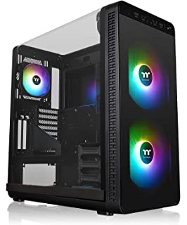 Thermaltake View 37 Motherboard Sync ARGB E-ATX Mid Tower Gaming Computer Case with 3