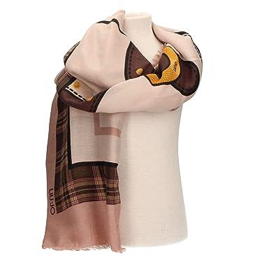 LIU JO N68314T0300 Foulard Women Pink TU  Amazon.co.uk  Clothing dd90eca66f2