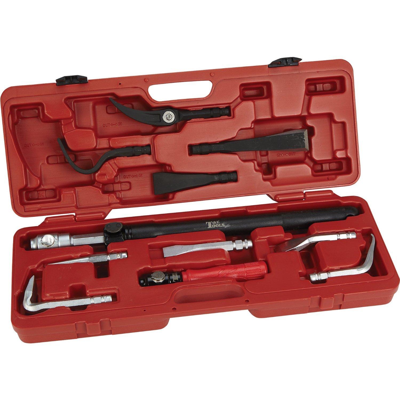 T & E Extendable Interchangeable Pry Bar Set - 12-Pc. Set, Model# 8770