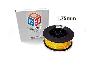 Filamento para impresora 3D IC3D ABS de 1,75 mm - Precisión ...
