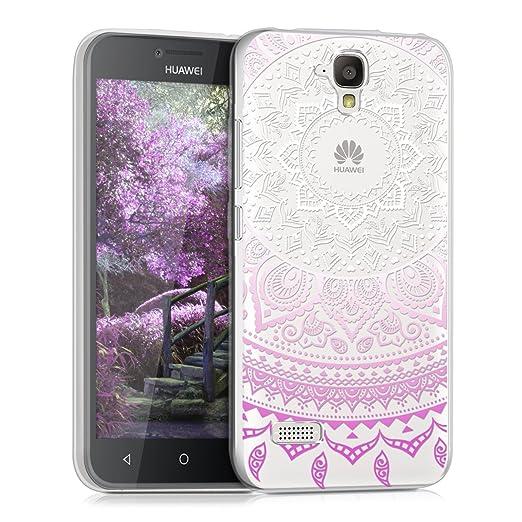 15 opinioni per kwmobile Cover per Huawei Y5- Custodia in silicone TPU- Back case protezione