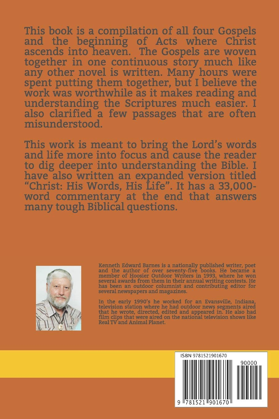 The Words and Life of JESUS: A Compilation of the Gospels: Matthew