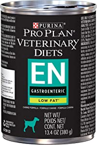 Purina EN Gastroenteric Low Fat Dog Food 12 13.4 Oz Cans