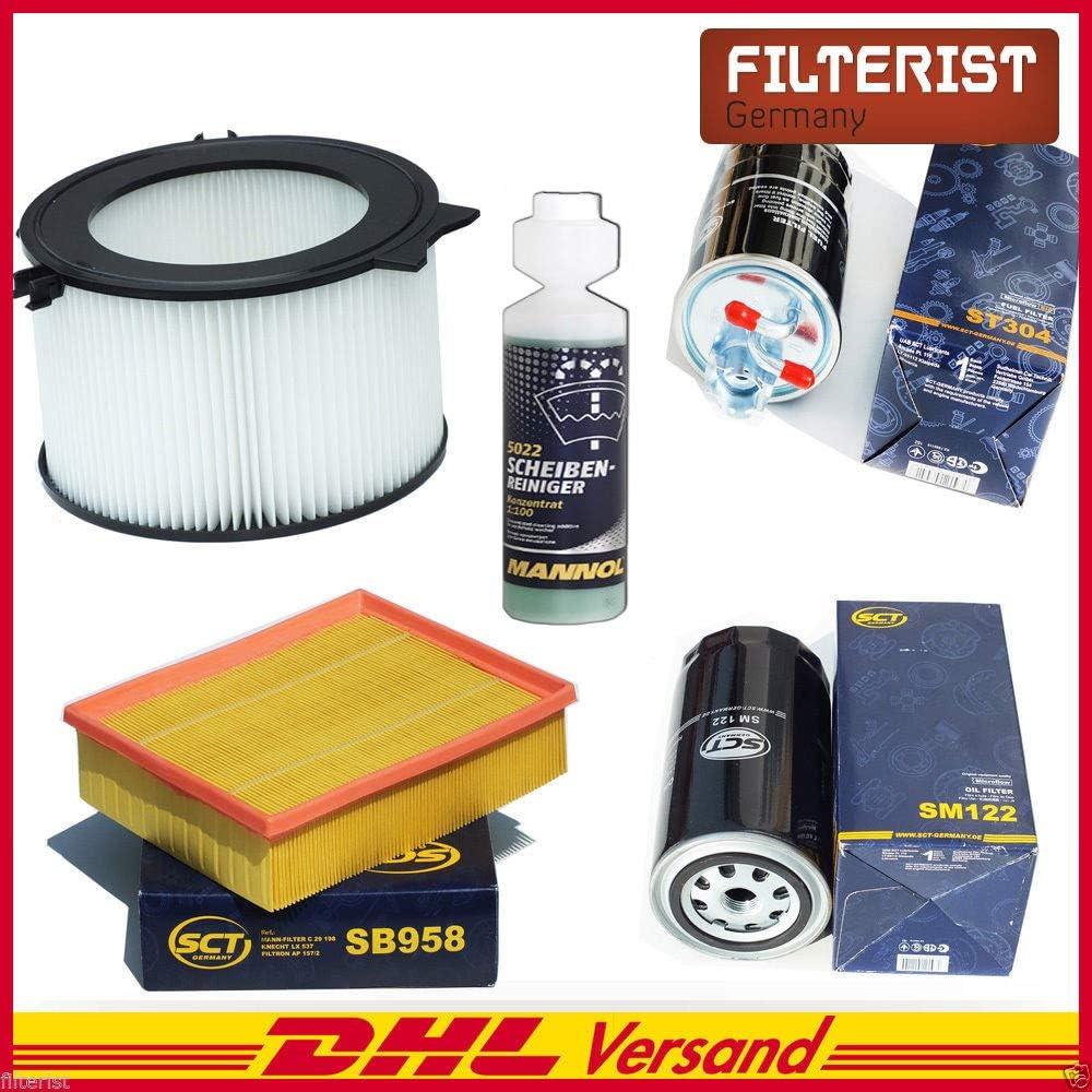 SCT Inspektions Set Inspektionspaket Innenraumfilter Kraftstofffilter Luftfilter /Ölfilter