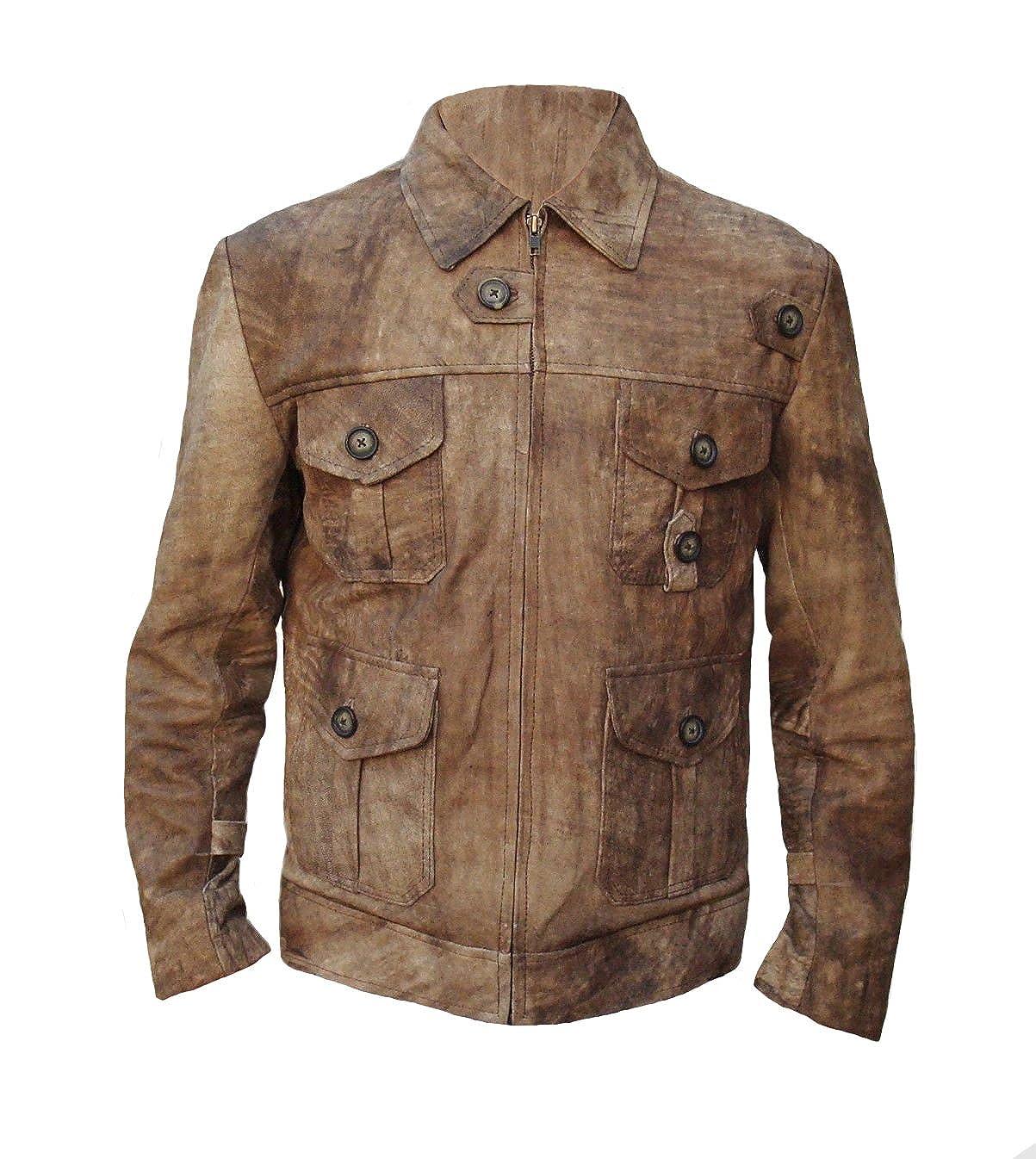 f35fa8456 FaddyRox The Expendables 2 Jason Statham Distressed Leather Jacket ...