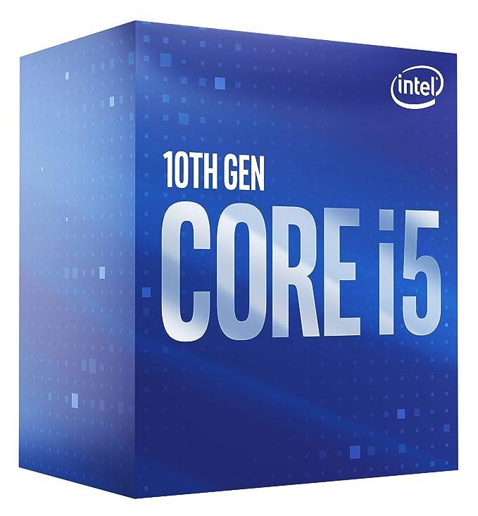 Intel Core i5-10400 - Procesador de sobremesa (6 núcleos hasta 4,3 GHz LGA1200 (Intel 400 Series Chipset), 65 W, número…
