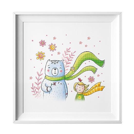 nikima Schönes für Kinder 032 Kinderzimmer Bild Bär Wind Poster ...