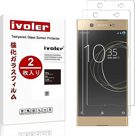 ivoler Protector de Pantalla para Sony Xperia XA1 Ultra, Cristal Vidrio Templado Premium: Amazon.es: Electrónica