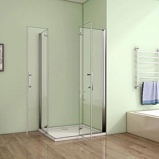 Cabina de ducha para esquina con puertas plegables HP-2/V2: Amazon.es: Bricolaje y herramientas