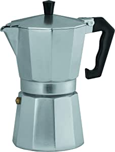 Avanti Classic Pro Stovetop Coffee Maker, Silver, 16549
