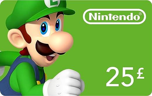 Tarjeta de Nintendo eShop £ 25 (Nintendo 3DS/DS/Wii/Wii U ...