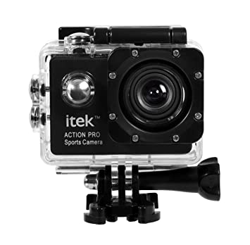 Buy iTek Action Camera 1080P Waterproof Go Pro type Sports Video ...