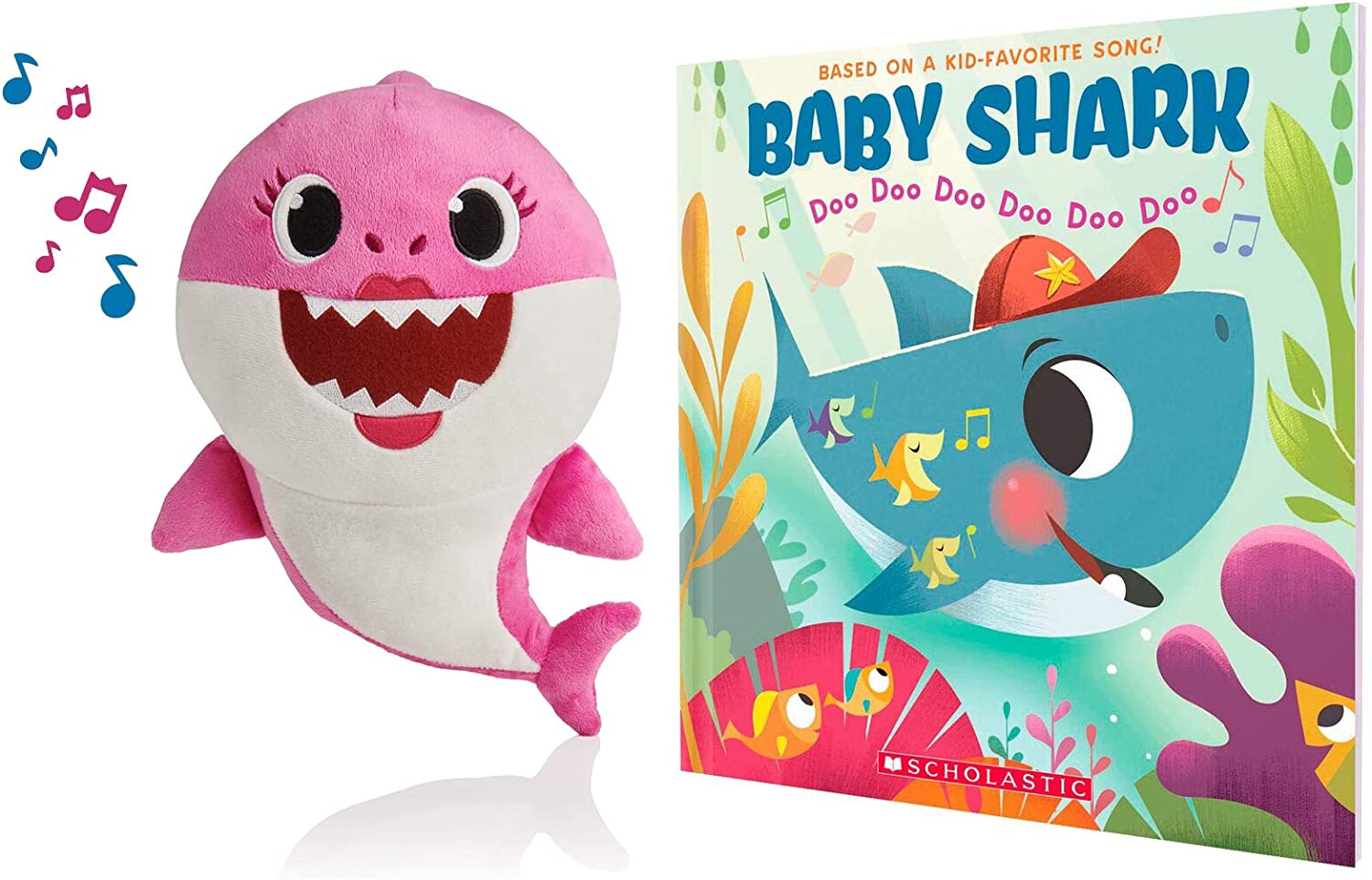 Set! Baby Shark Official Song Doll and Baby Shark: Doo Doo Doo Doo Doo Doo Yellow A Baby Shark Book