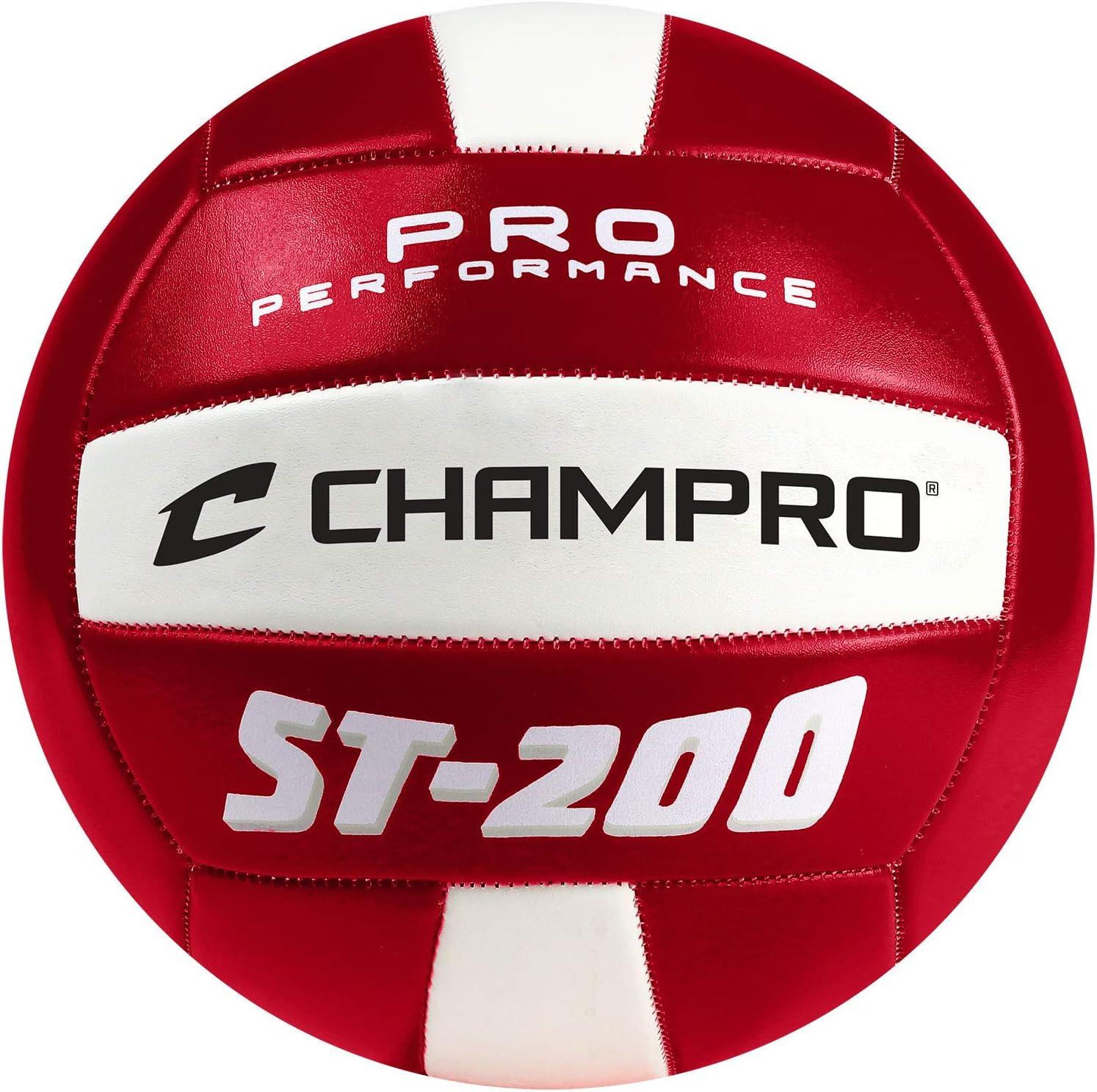 Champro Deportes ST-200 Pelota de Volley Playa, Color Rojo: Amazon ...