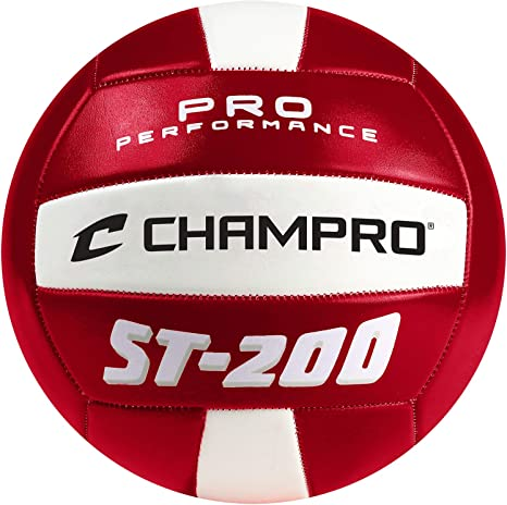 Champro Deportes ST-200 Pelota de Volley Playa, Color Rojo: Amazon ...