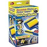 2 rouleaux adhésifs en silicone brosse réutilisable Sticky Buddy