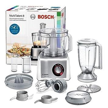 Bosch MC812S820 MultiTalent 8 - Procesador de alimentos / robot de cocina, 1.250 W,