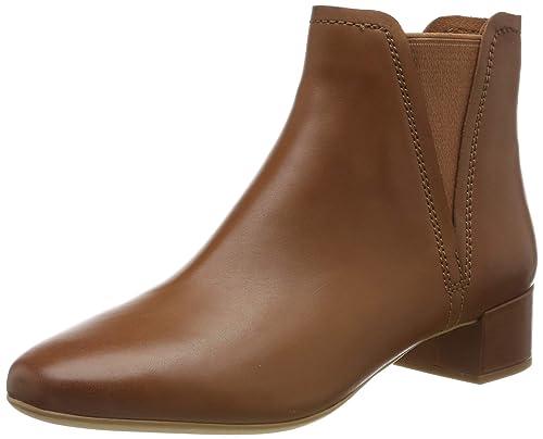 BRAUNE CLARKS STIEFELETTEN Stiefel Boots Schuhe Größe 44