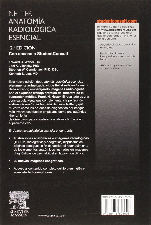 Netter. Anatomia radiologica esencial + StudentConsult (Spanish ...
