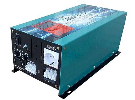 Inverter Pure Wave 5000w Onda Pura del Seno DC 24V to AC ...
