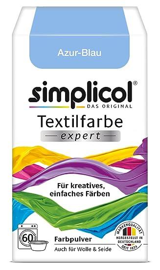 Simplicol Textilfarbe expert für kreatives, einfaches Färben, Azur ...