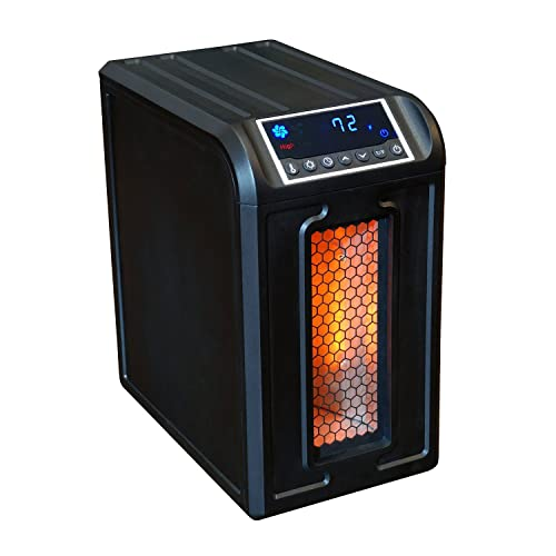 Exceptional LifeSmart Medium Room Infrared Heater With Remote