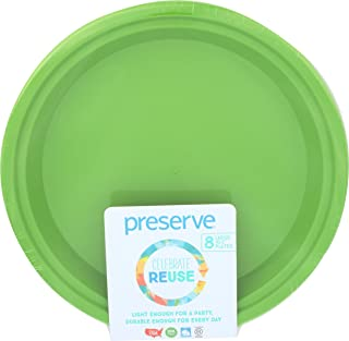 product image for Preserve, Plateware Lrg Apple Grn, 8 PC