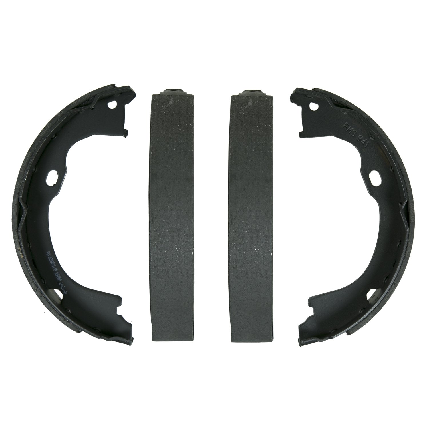 Wagner QuickStop Z941 Parking Brake Shoe Set, Rear