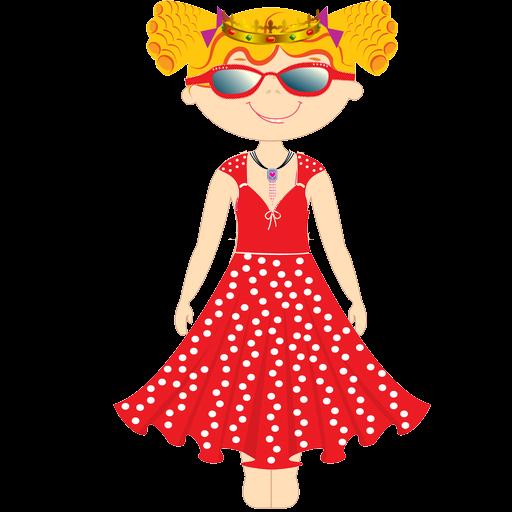 Dress-up Princess (Quinceanera Games)