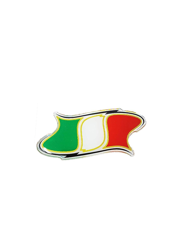 Quattroerre 14140 Sticker Adesivo 3D Italia Sagomata