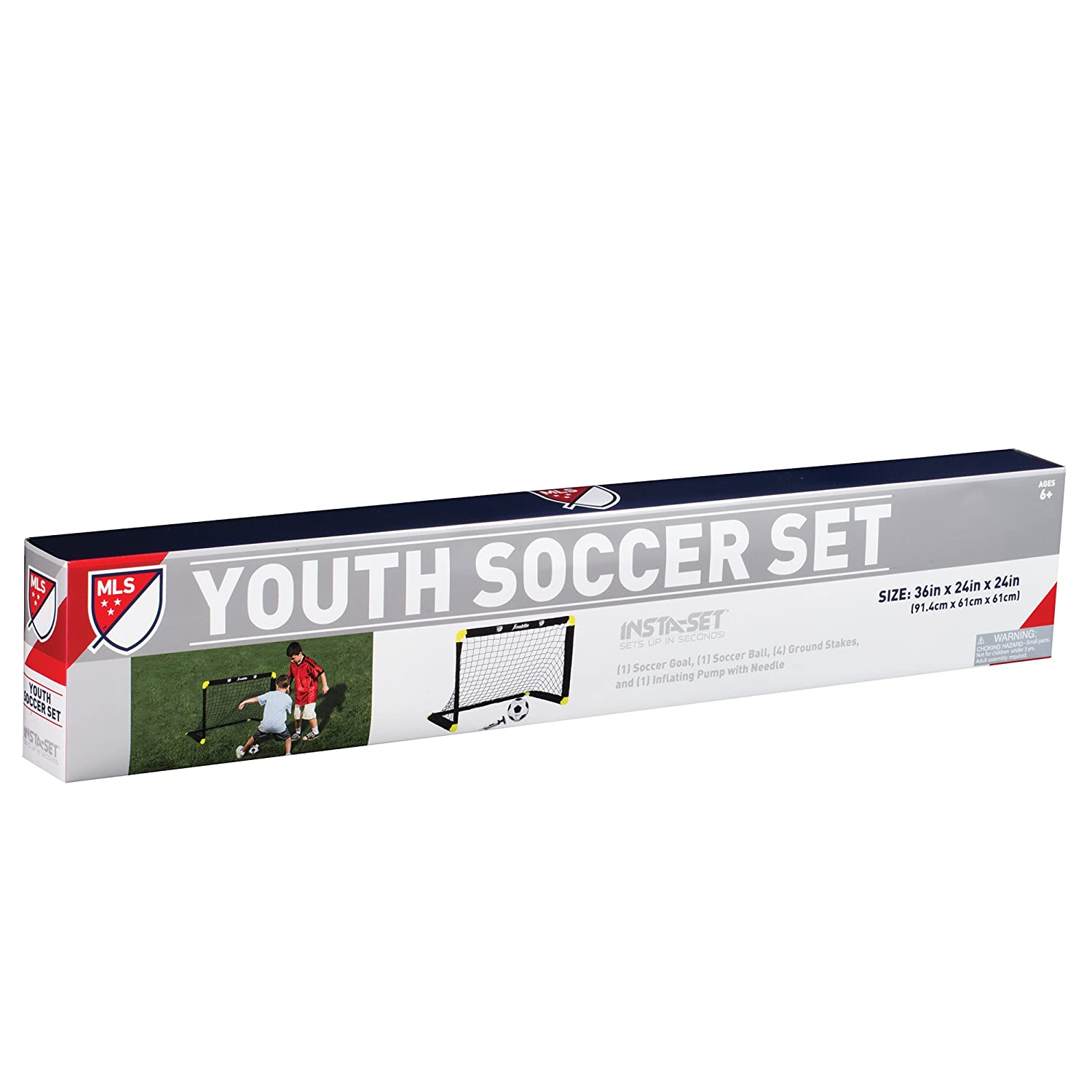 amazon com franklin sports mls insta set soccer set sports