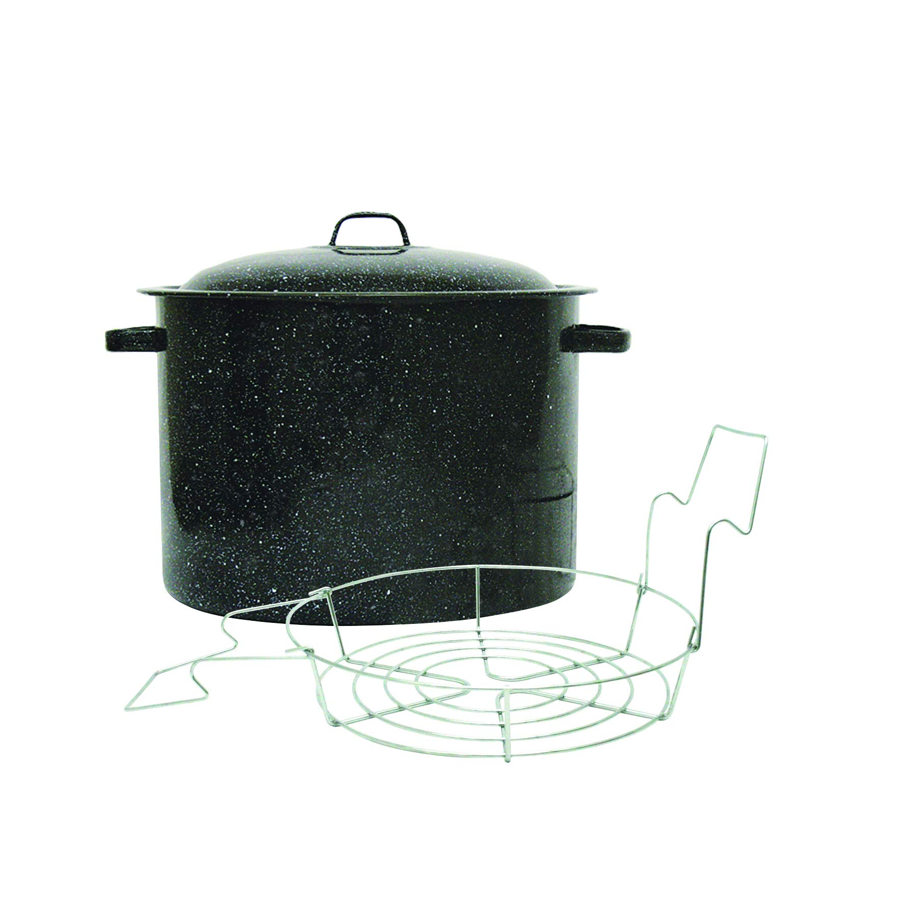 Granite Ware Covered Preserving Canner with Rack, 12-Quart by Granite Ware