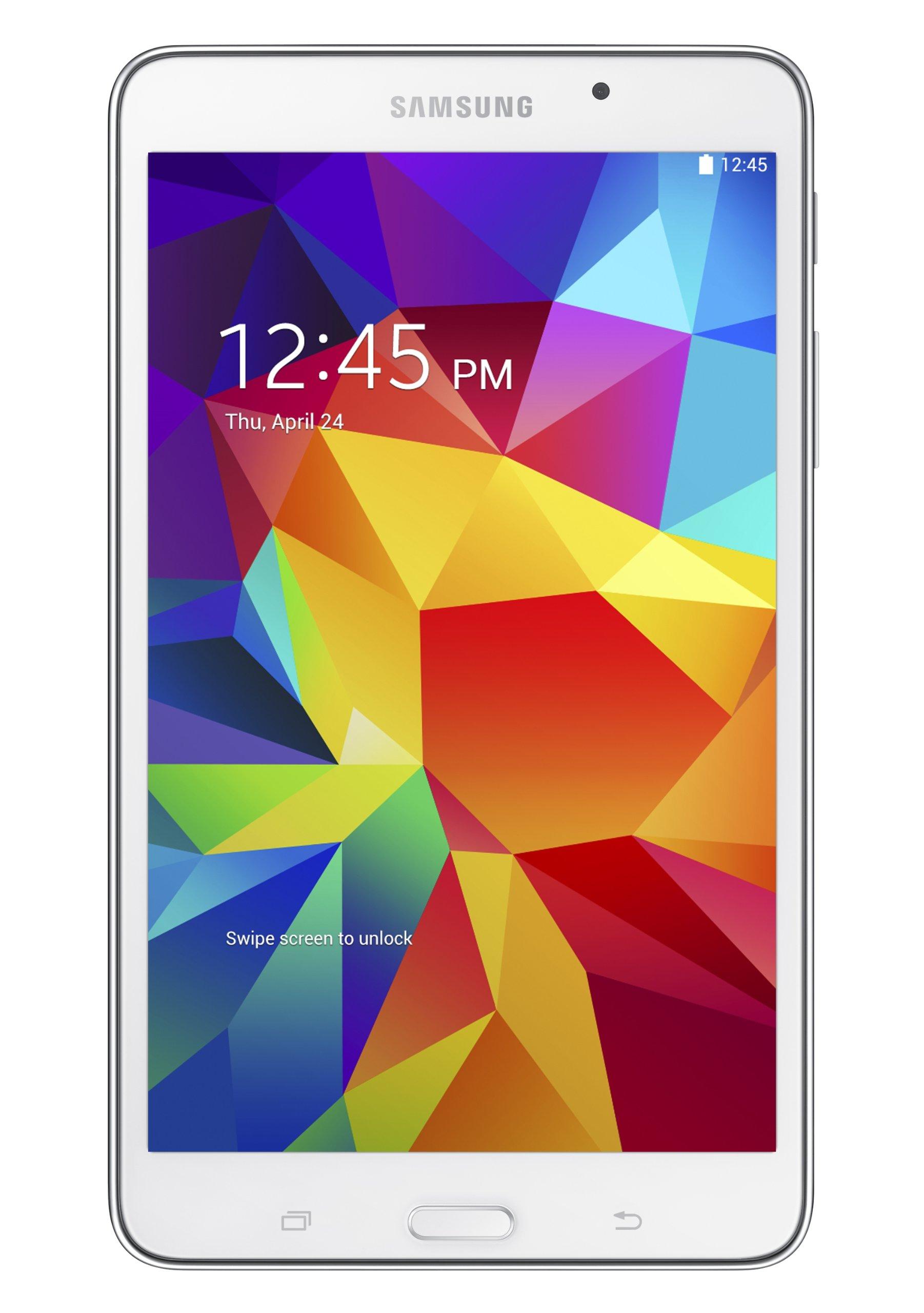Samsung Galaxy Tab 4 (7-Inch, White) by Samsung