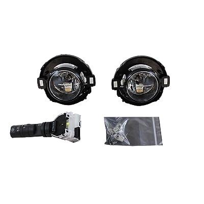 Nissan Genuine Accessories 999F1-KV000 Fog Light for Plastic Bumper: Automotive