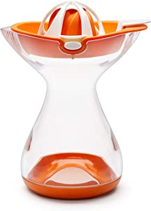 Chef'n Juicester Citrus Juicer and Reamer (Large), Apricot - 102-479-008