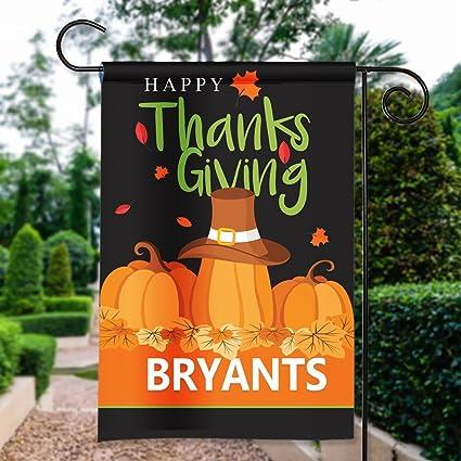Amazon.com: Feliz día de Acción de Gracias calabaza ...