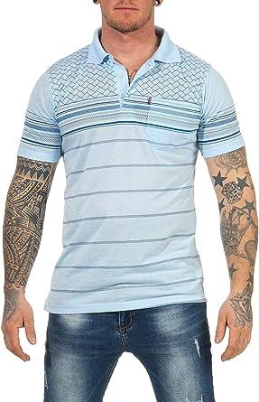 Humy Polo de Manga Corta para Hombres, suéter de algodón, Camisa, Jersey, Camisa Informal, Varios diseños: Amazon.es: Ropa y accesorios