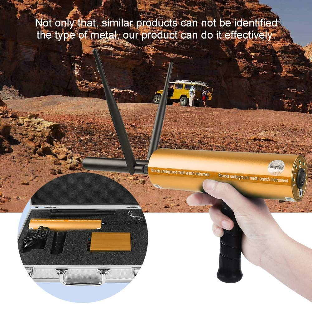 Amazon.com: fosa 3D Remote Handheld Metal Detector, 360-440HZ Professional Detection Depth Treasure Hunters Golden Finder Gold Silver Copper Scanner with ...