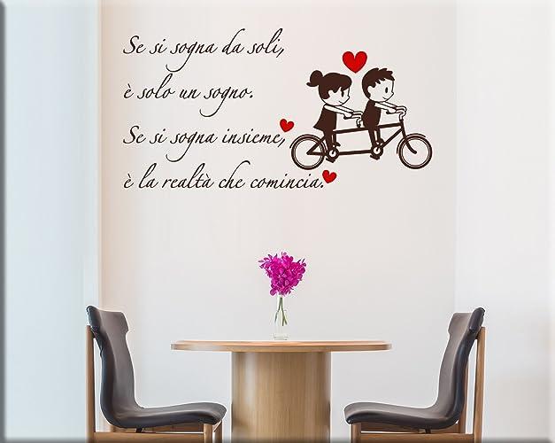 Scritte adesive per pareti amazon for Scritte da parete