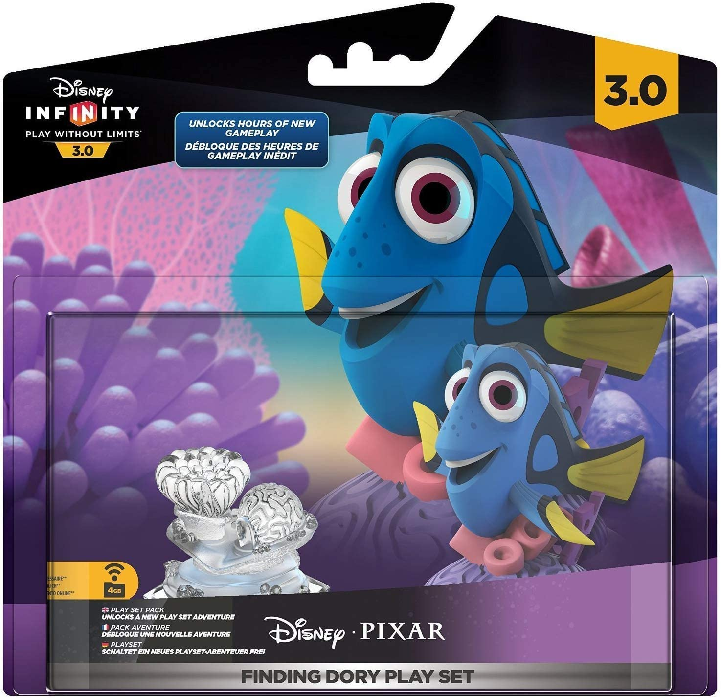 Finding Dory Play Set Brand New Edition 3.0  Action Figure Disney interactive