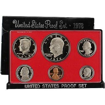 No 1978 1973-1983 US Govt Proof Sets in original boxes 10 sets