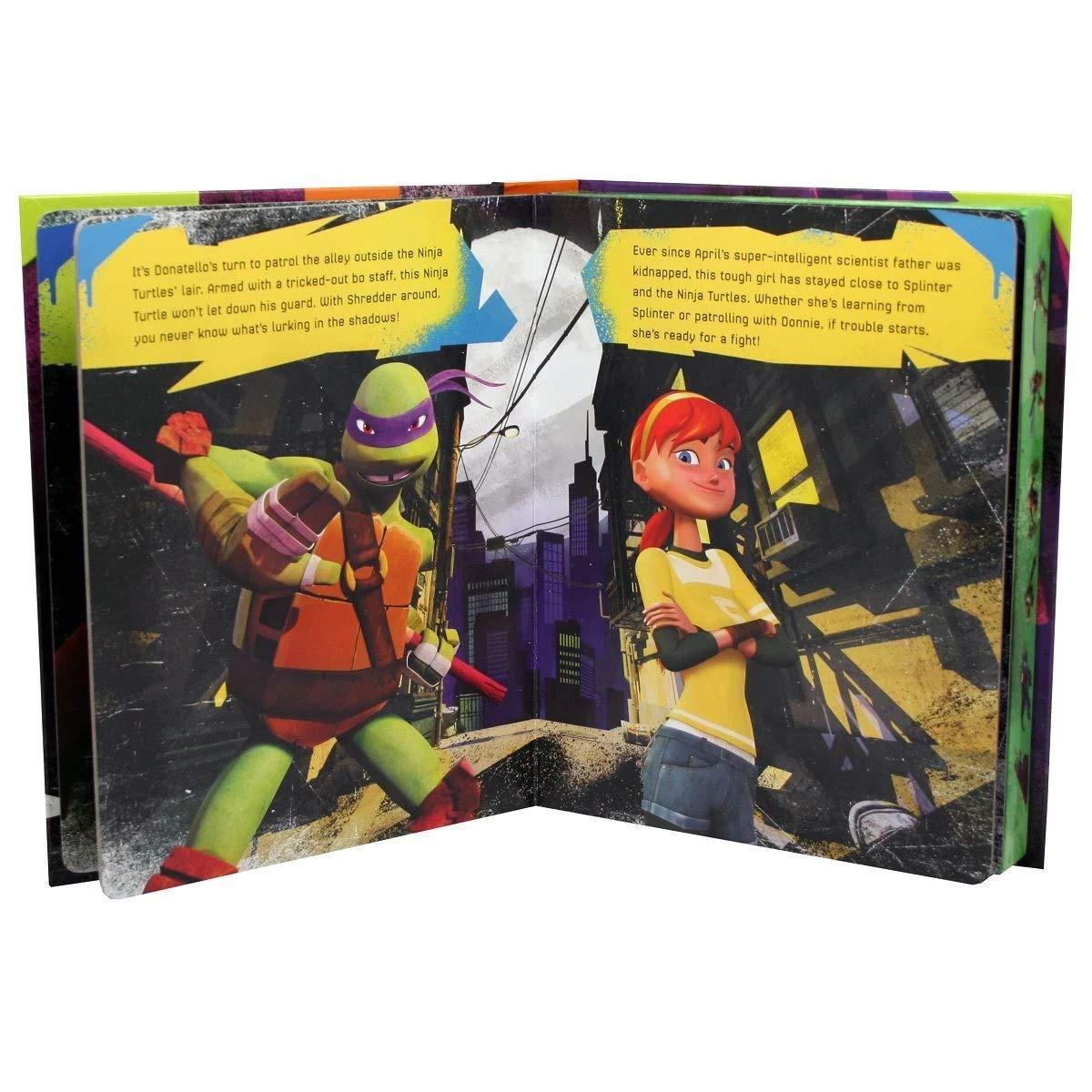 Teenage Mutant Ninja Turtles My Busy Book: Phidal Publishing ...