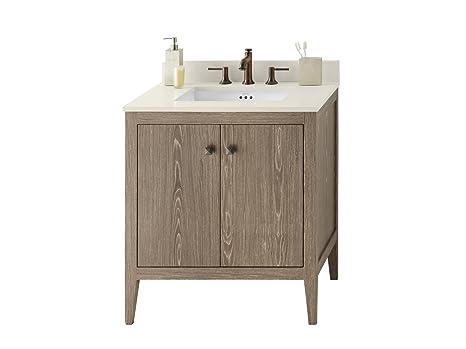 Montaggio Vasca Da Bagno Ad Incasso : Ronbow sophie cm set da bagno in rovere invecchiato singolo