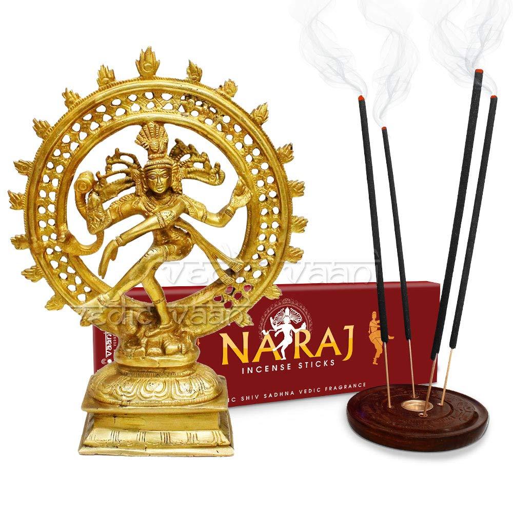 大きな取引 Vedic Vaani Natraj Vaani Natraj Natraj 像 Natraj お香スティック付き B07GVNZNVR, 那珂郡:e048f398 --- egreensolutions.ca