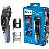 Philips HAIRCLIPPER Series 3000 Cortapelos HC3530/15 - Afeitadora (Negro, Azul, 0,5 mm, 2,3 cm, 4,1 cm, Acero inoxidable, 75 min)