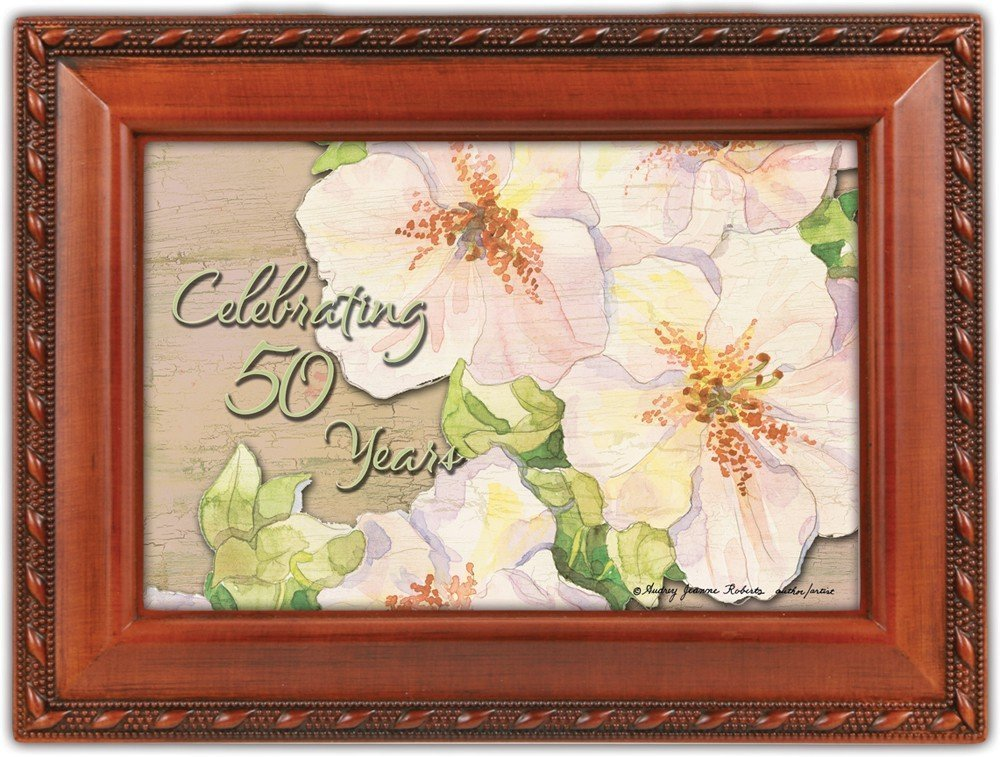 激安の 50th Anniversary Anniversary Cottage Garden Unchained Woodgrain Traditional 50th MusicボックスPlays Unchained Melody B007P7ZKHE, アトツーネットショップ:d4f28144 --- svecha37.ru
