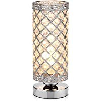 Table Lamp, Petronius Crystal Table Lamps, Decorative Bedside Nightstand Desk  Lamp Shade For Bedroom