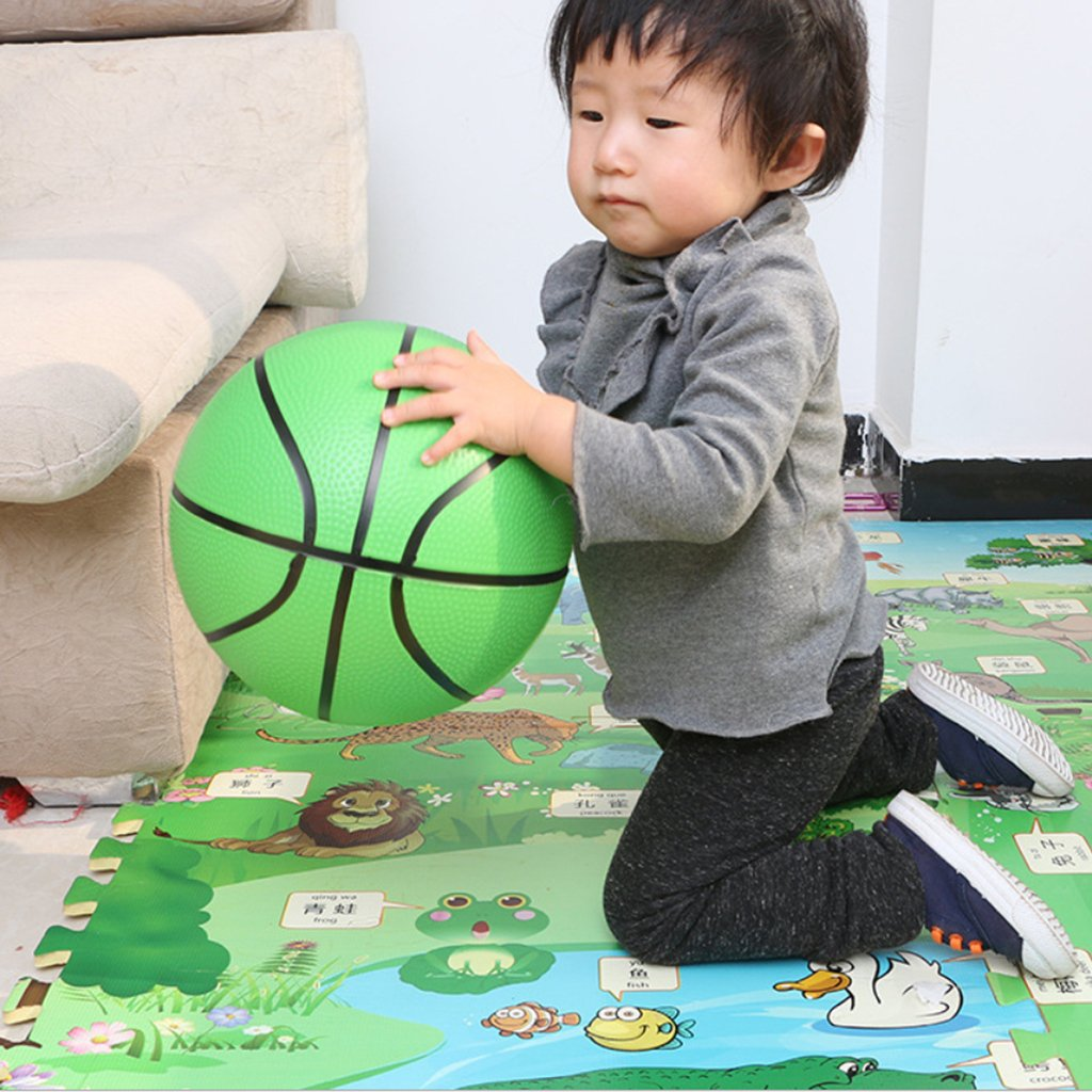 Green Baoblaze 8.5 Kids Mini Inflatable Basketball Outdoor Sports Toys for Children
